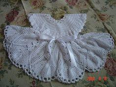 Crochetcetera e tal: Criações muito fofas para inspirar a todas... os vestidinhos tem receita!