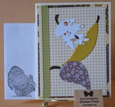 Senior Center Class | Denise Foor Studio PA  Quick and Easy Cards using for seniors to make.  Stampin' Up!