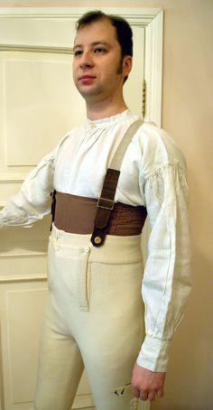 man's regency corset
