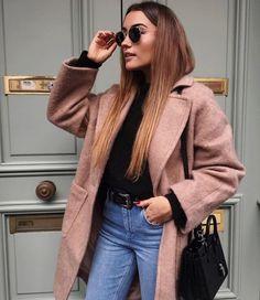 #jeans #coat #sunglasses #bag #girl