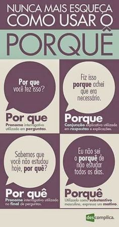 Mais um assunto já discutido nas dicas de português do Periscope.
