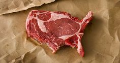 Meat America: Talk about playing with your food. Philadelphia-based artist Dominic Episcopo has sculpted a slab of meat into the shape of the United States in order to represent American's obsession with meat.