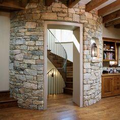 torre piedra escalera rstica