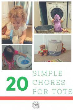 20+ Simple Chores fo