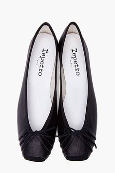 "Repetto Black ""Bolchoi"" Ballerina Flats, $275; ssense.com"