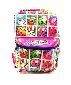 Shopkins Backpack All Over Print Limited Edition 2017 Girls Shopkins Outfit, Baby Hair Accessories, Diy Handbag, Unique Purses, Kate Spade Purse, Vintage Purses, Kids Backpacks, Satchel Handbags, Vera Bradley Backpack
