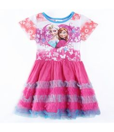 Vestido Frozen  Elsa & Anna Fashion