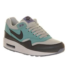 new product 820d7 7f0cf Nike Air Max 1 (l) Grey Glacier Blue - Hers trainers Nike Air Max