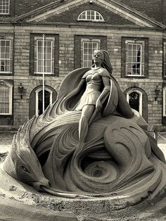 Sand Sculpture in Dublin Castle | Flickr - Photo Sharing!