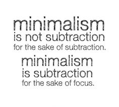 minimalism. make room to move freely. think clearly, and open, Hause ideen