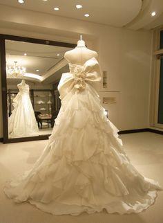 DRESS LIST 2 Dress ドレス Micie.motoazabu・ミーチェ 元麻布 Mianna Modern kimono inspired wedding dress by Japanese designer Micie