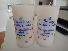 Creative Party Ideas by Cheryl: DIY Personalized Candle ....Easy to make Christmas Present