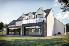 Set at the foot of the Mourne mountains within close proximity to Carlingford Lough N Ireland. We are the architect for this farmhouse that is now on site.