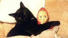 It's not my doll let me explain...