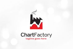 Chart Factory Logo Template by @Graphicsauthor