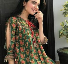 Latest trends in Beauty, Fashion, Indian outfit ideas, Wedding style on your mind? Kurta Designs Women, Kurti Neck Designs, Dress Neck Designs, Kurti Designs Party Wear, Sleeve Designs, Stylish Dresses For Girls, Stylish Dress Designs, Simple Dresses, Casual Dresses