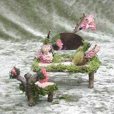 Fairy furniture...