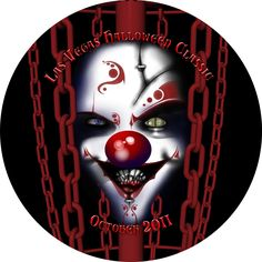 175g Ultimate Scary Clown Halloween Flying Disc