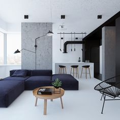 Here are list of the awesome minimalist apartment designs ever presented on sweet house. Find inspiration for Minimalist Apartment Design to add to your own home. Minimalist Furniture, Minimalist Home Decor, Minimalist Interior, Minimalist Living, Modern Minimalist, Minimalist Scandinavian, Minimalist Lifestyle, Minimalist Design, Interior Minimalista