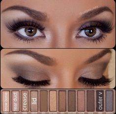 Love this eyeshadow look...its simple and classy♥