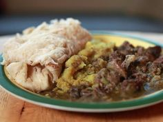 Get Trinidadian Curry Goat Recipe from Cooking Channel Goat Recipes, Indian Food Recipes, Dinner Recipes, Cooking Recipes, Indian Foods, Vegan Recipes, Carribean Food, Caribbean Recipes, Jamaican Recipes
