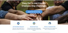Pacer for Teams is an easy, intuitive step challenge platform for organizations. Run fun challenges powered by the Pacer App to get your employees active and healthy! Wellness App, Walking App, The Pacer, Fun Challenges, App Store, Google Play, Mobile App, Get Started, Make It Simple