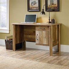 Bowery Hill Home Office Desk in Craftsman Oak