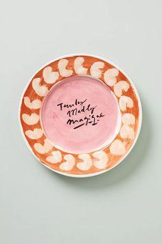 Hotel Magique for Anthropologie Melange Dessert Plate | Anthropologie Best Brand, Paper Goods, Anthropologie, Decorative Plates, Product Launch, Graphic Design, Art Prints, Desserts, China Cabinet