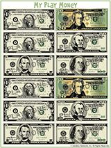 These Printable U S Currency Sheets Are A Great Teaching Tool For Math Money Printables
