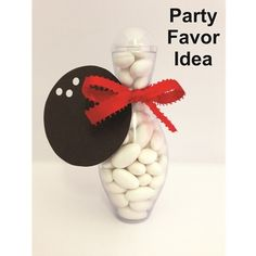 Mini Bowling Pin Candy Container | Sierra Products Inc.
