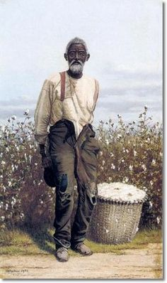 Don't know if you have this one or not. What an awesome painting. William Aiken Walker - Cotton Picker - 1903