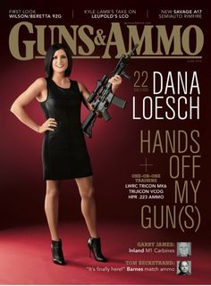 Political pundit Dana Loesch unveiled as the first woman on the cover of 'Guns & Ammo' since 1961 !! [April 2015]