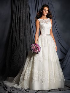 I really like the bodice on this gown...  Alfred Angelo Bridal Style 2500 from Alfred Angelo Signature Wedding Dresses