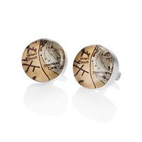 Special cufflinks for a special guy... you can pick whatever location you want ♥