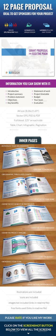 Clean Digital Marketing Proposal Digital marketing, Stationery - advertising proposal template