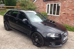 """USED AUDI A3 DIESEL SPORTBACK (2008-2013) #usedcars £10,750.00 FULL BLACK LEATHER,FACELIFT MODEL,BLACK ALLOYS,CD SAT NAV,DRL LIGHTS,AUTOMATIC,READY TO DRIVEAWAY, Upgrades - CD sat nav system + radio + MP3 compatible CD, Audi Exclusive fine nappa leather upholstery, Next MOT due 18/01/2014, Tax expires 28/02/2014, Standard Features - 18"""" 7 twin spoke alloy wheels, 3 spoke leather multifunction S Line steering wheel and more."""