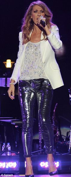Celine Dion at the Jamaica Jazz and Blues festival 2012