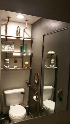 21 Elegant Steampunk Bathroom Ideas | Small Bathroom Renovations, Bathroom  Showrooms And Victorian Bathroom