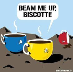 Star Trek humor. Hahahahaha :'D This had me cracking up!