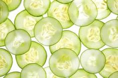 Juicing Cucumber - Benefits For Your Skin.  We love cucumber!  It's in our Eye Creme. http://www.pritte.com/eye-creme/