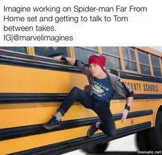 A dream come true Tom Holland Fanfiction, Parker Spiderman, Tom Holland Imagines, Avengers Imagines, Stupid Funny Memes, Hilarious, Superhero Memes, Best Photo Poses, Tom Holland Peter Parker