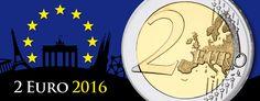 2 Euro Gedenkmünzen 2016 -  Münzbilder und Informationen zu den Themen der neuen 2 Euro-Münzen 2016