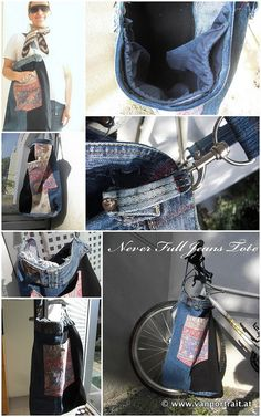 Never Full #Jeans #tote