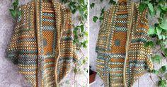 Ezt a boleró-kendő-kardigán ... vagy minek is nevezzem ruhadarabot bárki könnyedén meg tudja csinálni, aki életében fogott már a kezében ho...