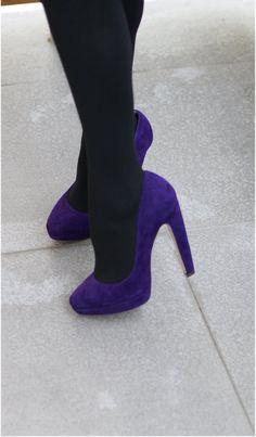 Miu Miu purple pumps, Fashion and Cookies