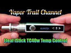 Eleaf iStick TC40w - Temp Control Mod & iJust 2 / GS Air ni200 Coils