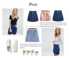 """""""pear"""" by divyabathla on Polyvore featuring H&M, Sans Souci, ASOS, Gap and Allstate Floral"""