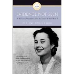 Evidence Not Seen by Darlene Deibler Rose. Darlene was a missionary held in a Japanese POW camp during WWII. It's a wonderfully moving story of faith and God's hand moving in the midst of trials.