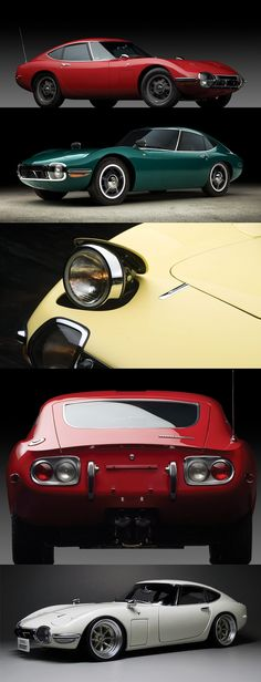 Toyota 2000GT Sports Car In Living Colors The Toyota 2000GT were produced from…