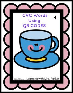 Learning With Mrs. Parker: Have a HEART QR code CVC freebie